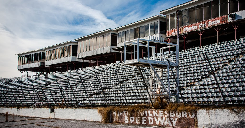 The Deserted North Wilkesboro Speedway on top 10 nascar crashes