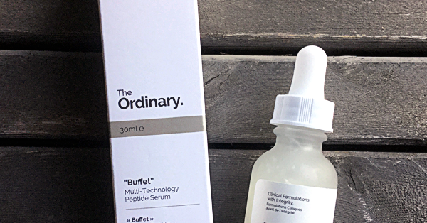 Product Review The Ordinary Buffet Peptide Serum Enjoy The View