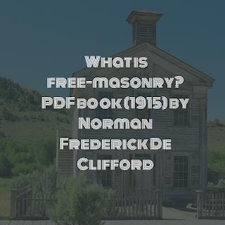 What is free-masonry?
