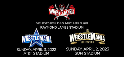 WrestleMania Announcements