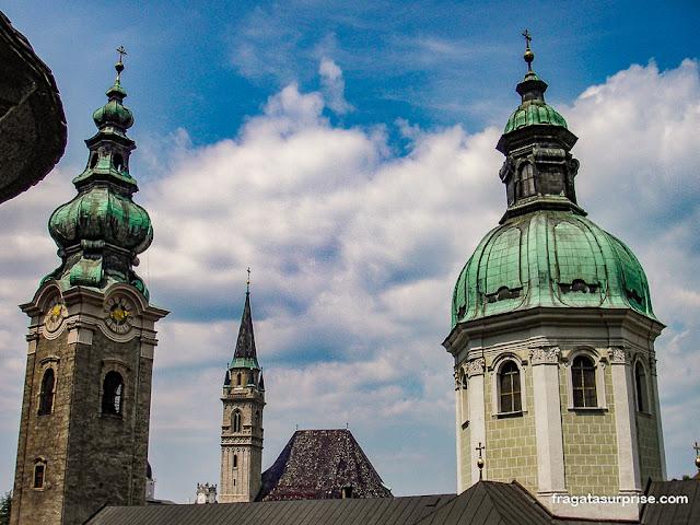 Torres da Catedral de Salzburgo