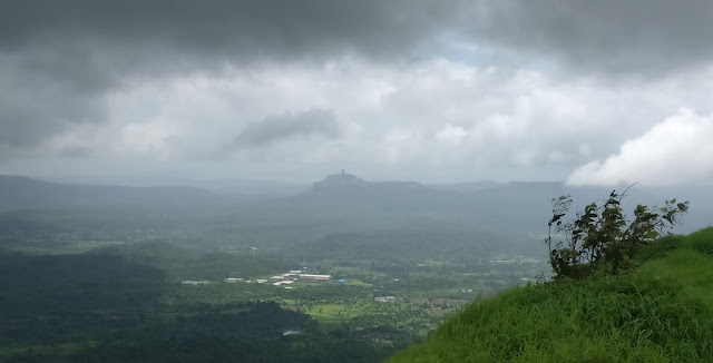 Karnala fort view from Manikagad