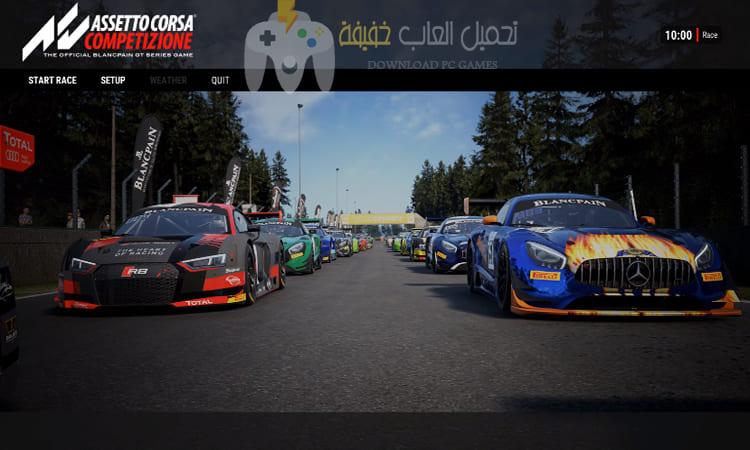 تحميل لعبة Assetto Corsa Competizione v0.6.0 برابط مباشر