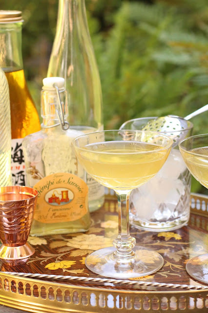 cocktail avec du genepi
