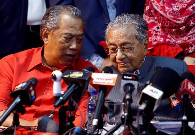 Mahathir Mohamad Dikeluarkan dari Partai, PM Muhyiddin Yassin: Semoga Beruntung!