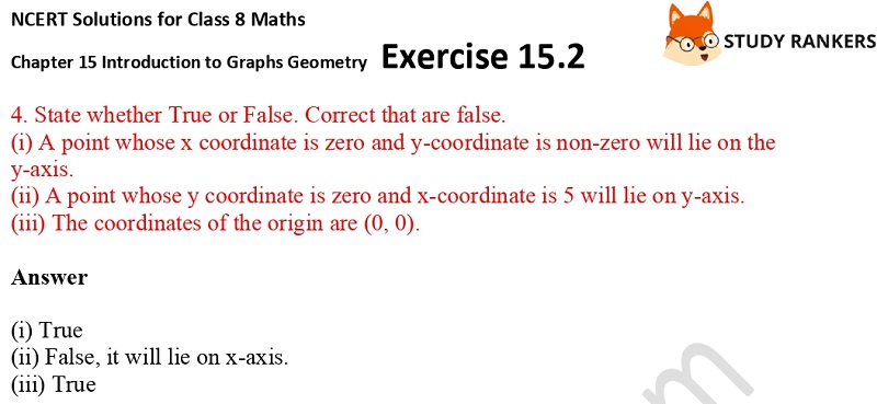 NCERT Solutions for Class 8 Maths Ch 15 Introduction to Graphs Exercise 15.2 3