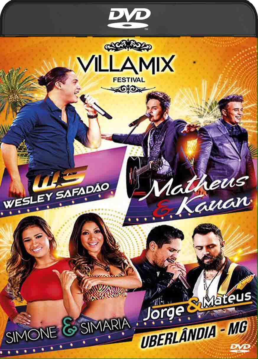 Villa Mix Uberlândia (2016) DVD-R