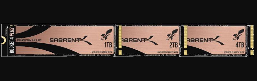 Sabrent Rocket 4 Plus SSD'ler