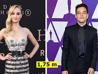 28 Celebridades cuja sua altura pode te surpreender
