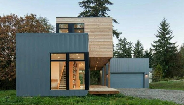 Small 2- Story House Design