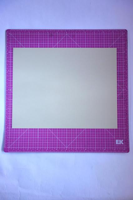 self-healing mat, card stock