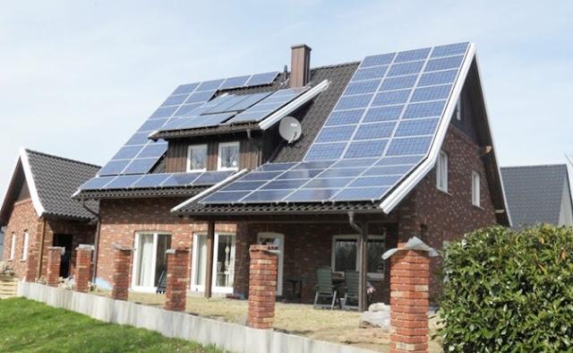 Luz, ahorro, energía, solar