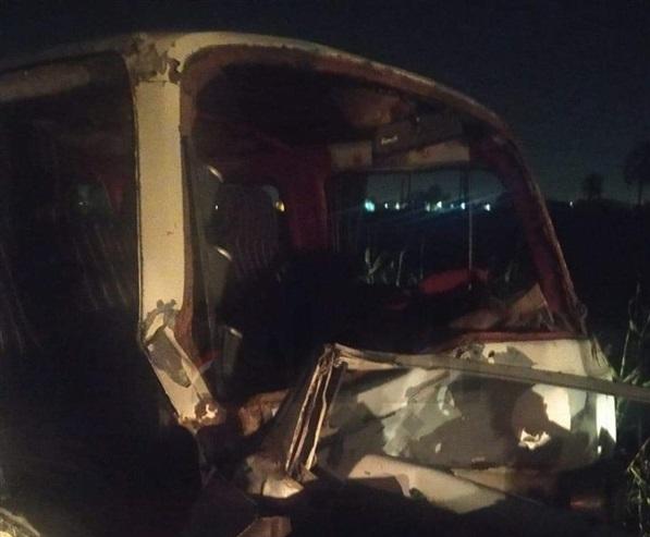 مصرع وإصابة 7 أشخاص بحادث سير في البحيرة