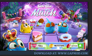 Download Angry Birds Match v3.8.0 APK MOD Unlimited Money
