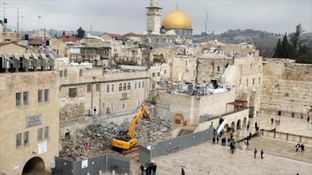 Liga Árabe denuncia 'peligrosas' excavaciones israelíes en Al-Quds