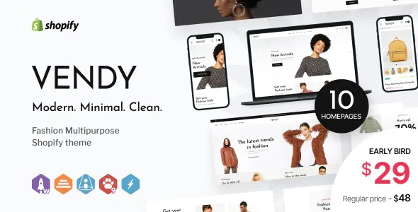 Best Multipurpose Shopify Theme for Fashion