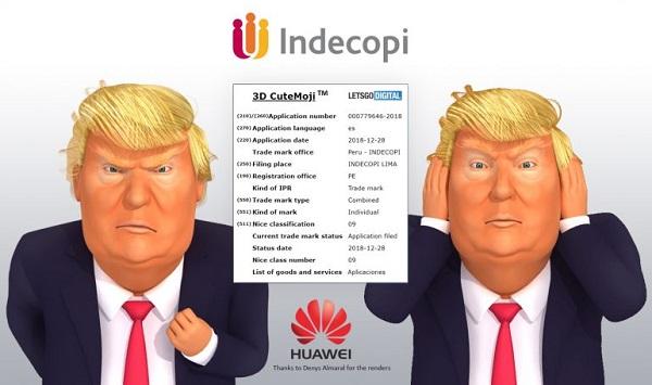 دونالد ترامب - Trump emoji