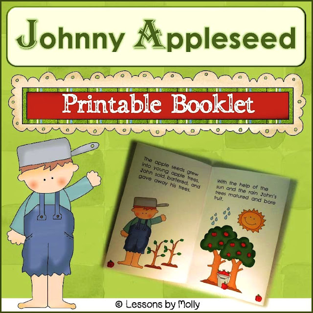 https://www.teacherspayteachers.com/Product/johnny-appleseed-printable-book-883871