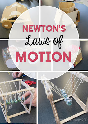 STEM Challenges- prove Newton's Laws with these three projects!!