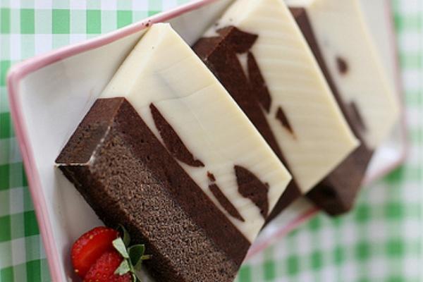 Resep Puding Cake Bermotif