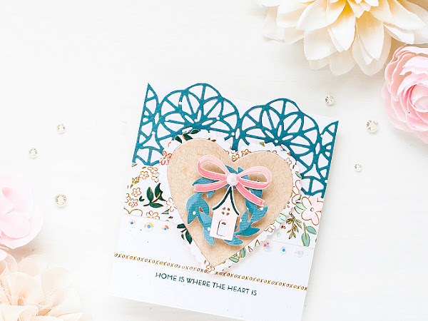 Home is Where the Heart Is - Papertrey Ink + Pinkfresh Studio