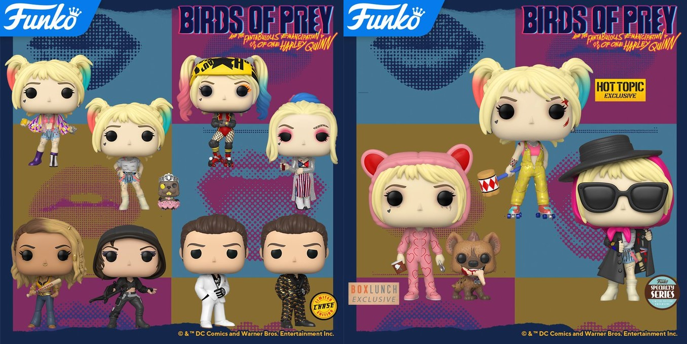 The Blot Says Birds Of Prey Pop Dc Comics Vinyl Figures By Funko