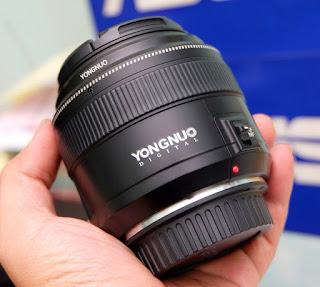 Lensa Yongnuo 85mm f1.8 For Canon Bekas
