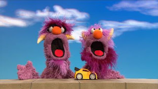 the Two-Headed Monster how to take turns, Sesame Street Episode 4402 Don't Get Pushy season 44