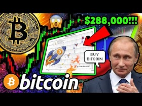 BITCOIN: RUSSIA DUMPING GOLD to BUY BTC?!! $288,000 NEW Price TARGET S2FX 🚀