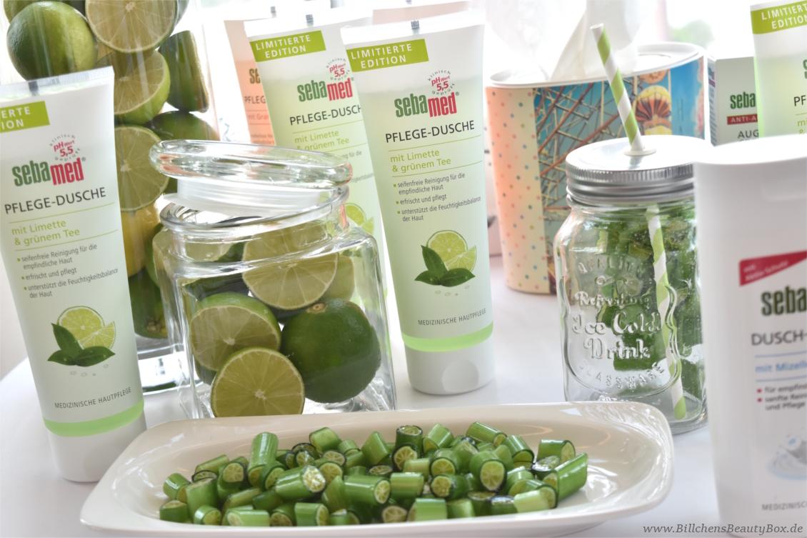 Beautypress Bloggerevent Juli 2017 - sebamed Pflege-Dusche Limette & grüner Tee