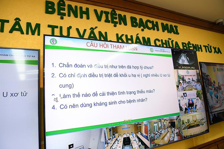 Bệnh viện Bạch Mai chính thức triển khai hệ thống khám chữa bệnh từ xa Telehealth