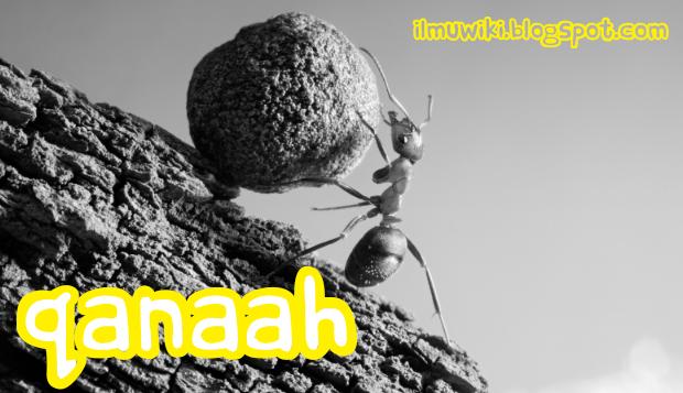 Arti Qanaah / Qona'ah, Contoh, dan Cara Membiasakan Perilaku