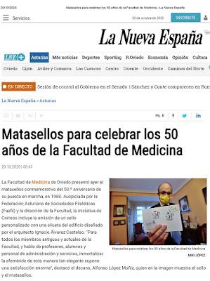 matasellos, medicina, Oviedo