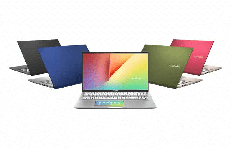 The new VivoBook S14 in different colorways