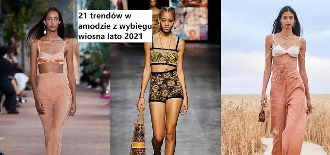 21 trendów w modzie z wybiegu wiosna/lato 2021