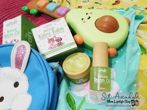 Affan Natural Baby Balm & Telon Oil - Teman Baik Anak Di Kala Kembung Dan Selesema