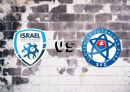 Israel vs Eslovaquia  Resumen