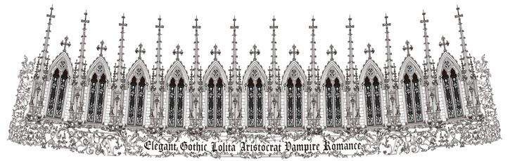 NGA ✝ rose sanctuary ✝ new moi même moitié release! neo gothic arch