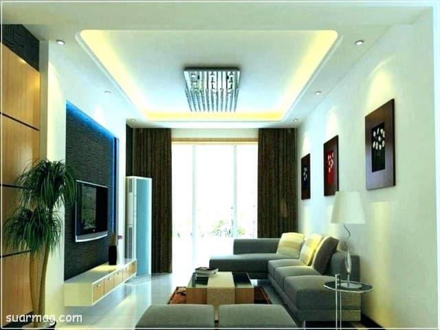 اسقف جبس بورد للصالات مستطيلة 3 | Gypsum Ceiling For Rectangular Halls 3