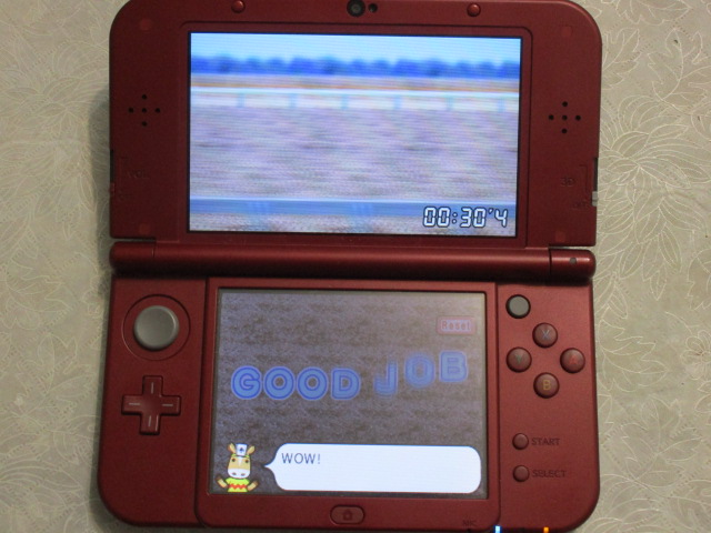 Pocket Card Jockey training mode record 30 seconds