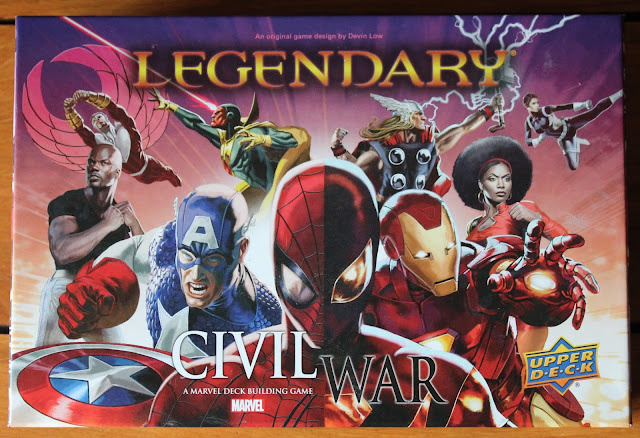 Marvel Legendary Civil War box art