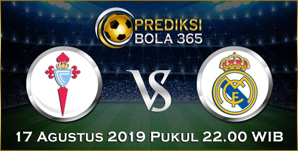 Prediksi Skor Bola Celta Vigo vs Real Madrid 17 Agustus 2019