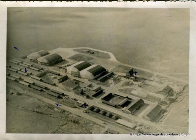 Base Aérienne  d'Aulnat en 1948.