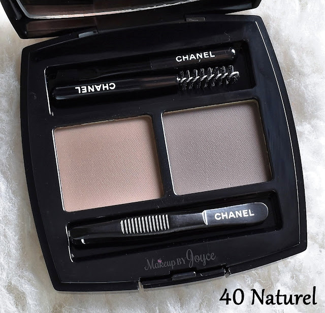 Chanel La Palette Sourcils De Chanel Brow Powder Duo 40 Naturel Palette Review