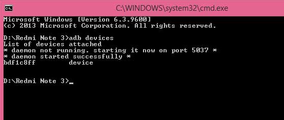 Cara Install Pasang TWRP Recovery Xiaomi Redmi Note 3