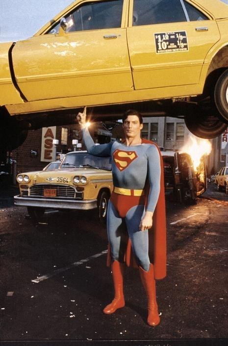 Superman taxi