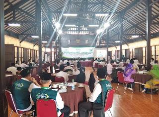 Tingkatkan Menejemen, NU CARE LAZIZNU PCNU Kabupaten Purbalingga Gelar Madrasah Amil.