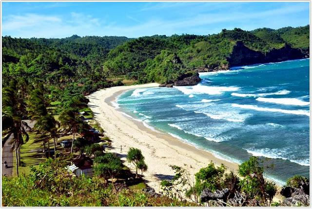 Pantai Teleng Ria;Top Destinasi Wisata Pacitan;