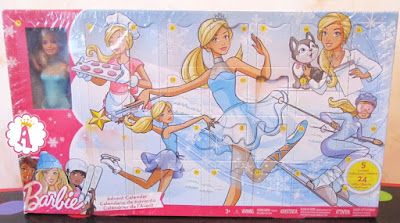 Адвент календарь с куклой Барби