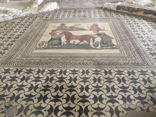 Villas romanas España Almenara Puras